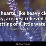 Christopher Morley Quotes Pinterest