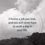 Confucius Quotes Choose A Job You Love Facebook
