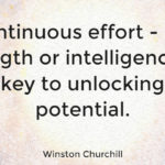 Continuous Effort Winston Churchill Facebook