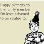 Cousin Birthday Ecard