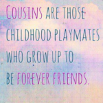 Cousin Love Birthday Quotes
