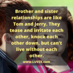 Cute Brother And Sister Quotes Tumblr