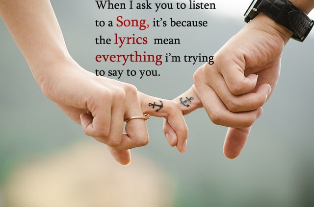 Cute Love Song Quotes For Him Uploadmegaquotes