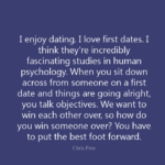 Dating Quotes by Chris Pine