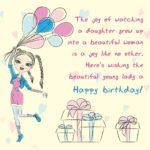 Daughter 20th Birthday Quotes