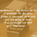 Daughter College Graduation Message