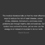 David Suzuki Quotes About Diet