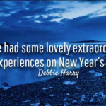 Debbie Harry Quotes About New Year's