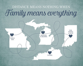 Distance Family Quotes Upload Mega Quotes