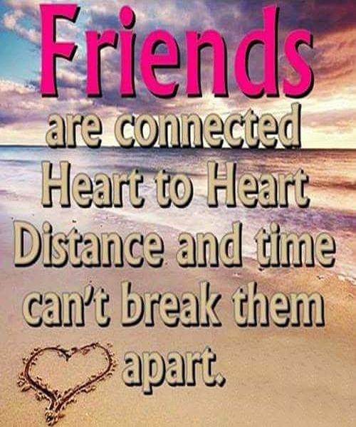 Distance Friendship Quotes And Poem