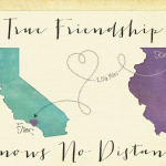Distance Friendship Quotes for Best Friends