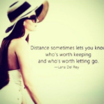 Distance Quotes and Sayings