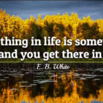 E. B. White Quotes About Car