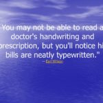 Earl Wilson Quotes About Medical