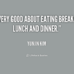Eating Lunch Quotes Twitter