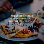 Eating Together With Friends Quotes Tumblr