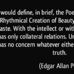 Edgar Allan Poe Quotes About Poetry