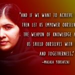 Education Quotes Malala