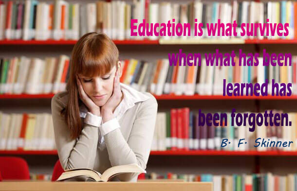 Education Quotes by B. F. Skinner