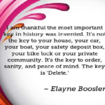 Elayne Boosler Quotes About History