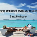 Ernest Hemingway Quotes About Travel