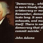 Famous Democracy Quotes Facebook