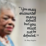 Famous Education Quotes by Maya Angelou