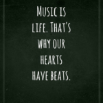 Famous Music Quotes and Sayings for Flickr