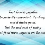 Fast Food Quotes Facebook