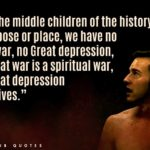 Fight Club Famous Quotes Pinterest