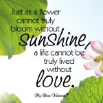 Flower Quotes about Love