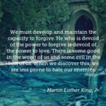 Forgiveness Quotes by Martin Luther King, Jr.