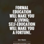 Formal Education Quote Pinterest