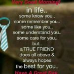 Friendship Quotes Good Morning Twitter