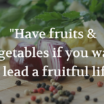 Fruits And Vegetables Quotes Facebook