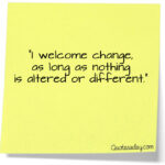 Funny Sayings About Change Facebook