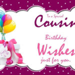 Girl Cousin Birthday Quotes