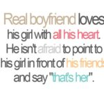 Girl Quotes about Boyfriends