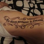 Girl Quotes and Sayings Tattoos