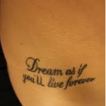 Girly Quotes Tattoos on Tumblr