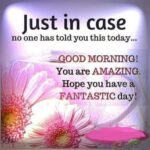 Good Morning You Are Special Quotes Pinterest