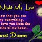 Good Night Love Message For My Love Facebook