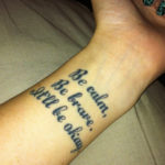 Good Quotes about Life Tattoos