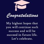 Message For Parents Graduation Pinterest
