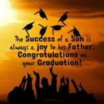 Graduation Quotes From Father To Son Facebook