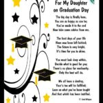 Graduation Words For My Daughter Pinterest