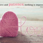 Great Patience Love Quotes