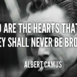 Great Quotes by Albert Camus about Moving On