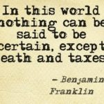 Great Quotes by Benjamin Franklin about Death