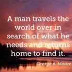 Great Quotes by George A. Moore about Travel